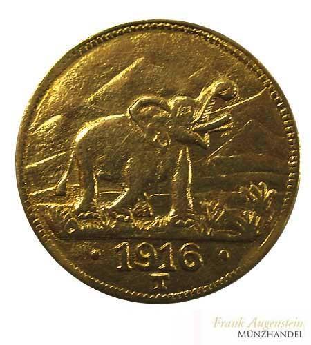 Deutsch Ostafrika 15 Rupien 1916 T J.728 b