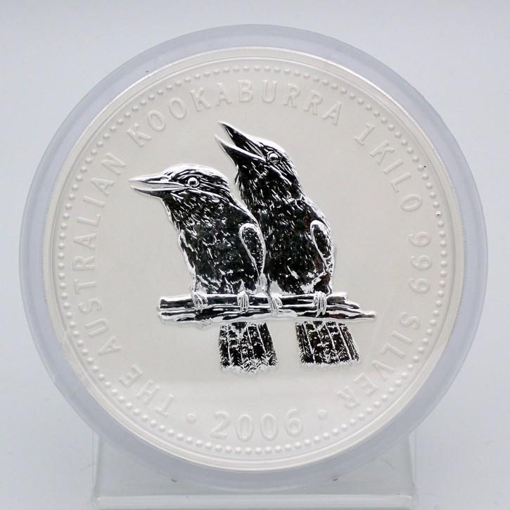 Australien $ 30 Silber 1 kg Kookaburra 2006