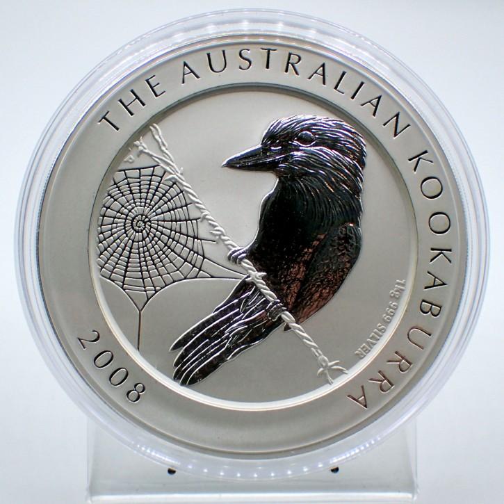 Australien $ 30 Silber 1 kg Kookaburra 2008
