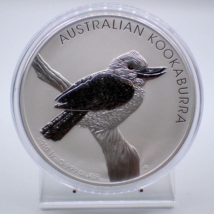 Australien $ 30 Silber 1 kg Kookaburra 2010