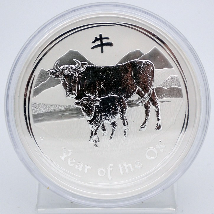 Australien $ 30 Silber 1 kg Lunar Serie II Ochse 2009