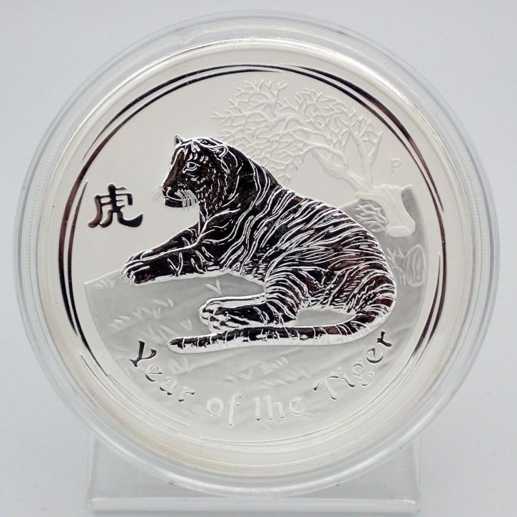 Australien $ 30 Silber 1 kg Lunar Serie II Tiger 2010