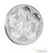 Australien $ 1 Five Blessings 1 oz Silber 2016 incl. Etui