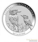 Australien $ 1 Silber 1 oz Kookaburra 2017