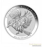 Australien $ 1 Silber 1 oz Kookaburra 2018
