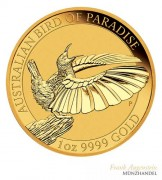 Australien $ 100 Birds of Paradise Victoria Paradiesvogel 1 oz Gold 2018