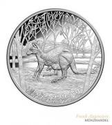 Australien $ 1 Silber Känguruh 2016 Polierte Platte