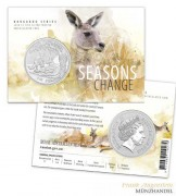 Australien $ 1 Silber Känguru RAM 2018 st - Blistervariante