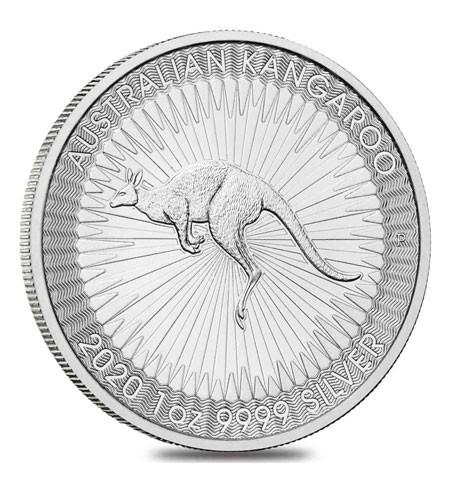 Australien $ 1 Silber 1 oz Kangaroo Perth Mint 2020