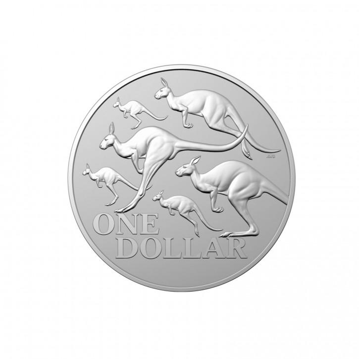 Australien $ 1 Silber Känguru RAM 2020 st