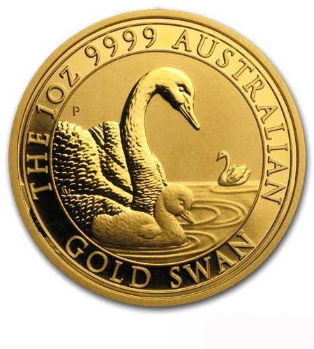 Australien $ 100 Schwan 1 oz Gold 2019