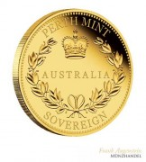 Australien $ 25 Proof Sovereign Gold 2018