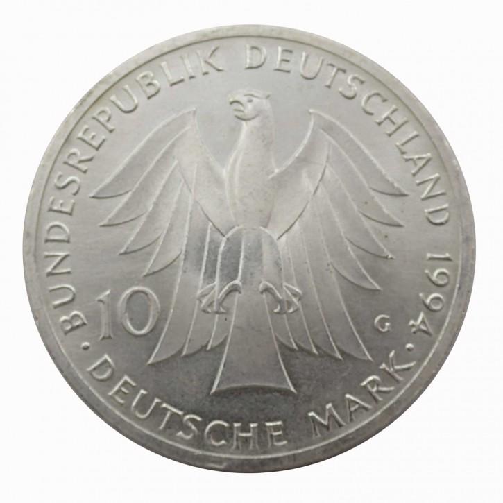 BRD 10 DM Gedenkmünzen 1972 - 1997