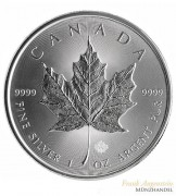 Canada $ 5 Silber 1 oz Maple Leaf 2020