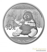 China 10 Yuan Silber Panda 2017