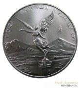 Mexiko Libertad/Siegesgöttin 2015 st 1 oz Silber