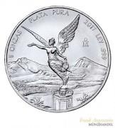 Mexiko Libertad/Siegesgöttin 2017 st 5 oz Silber