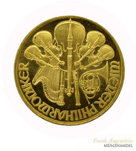 Österreich Wiener Philharmoniker 1/4 oz Gold