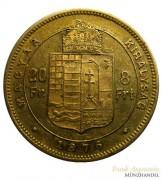 Österreich-Ungarn Franz Josef 8 Forint 1876 Gold