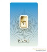 Goldbarren Pamp Suisse 5 g .9999 Gold Motiv Israel