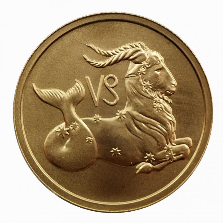 Russland 50 Rubel Gold 1/4 oz Sternzeichen Steinbock 2003