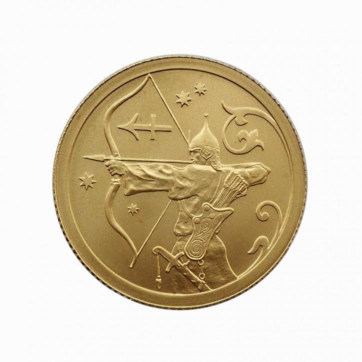 Russland 25 Rubel Gold 1/10 oz Sternzeichen Schütze 2005