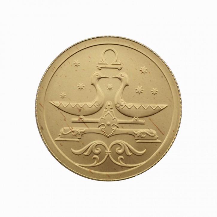 Russland 25 Rubel Gold 1/10 oz Sternzeichen Waage 2005