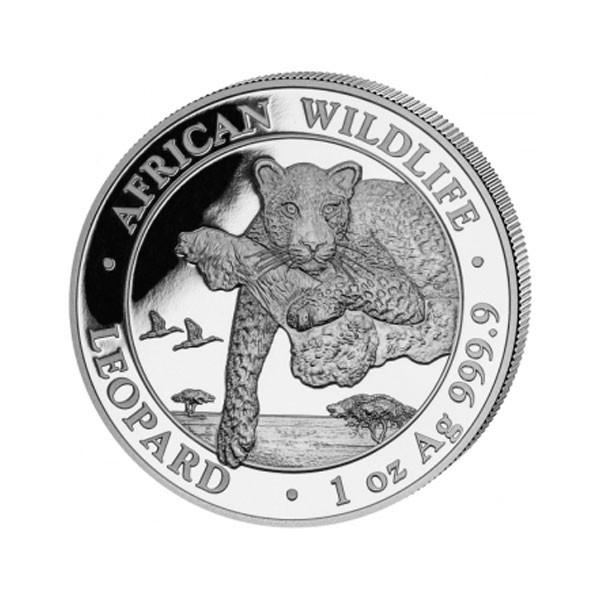 Somalia 100 Shillings Silber .999 African Wildlife Leopard 2020
