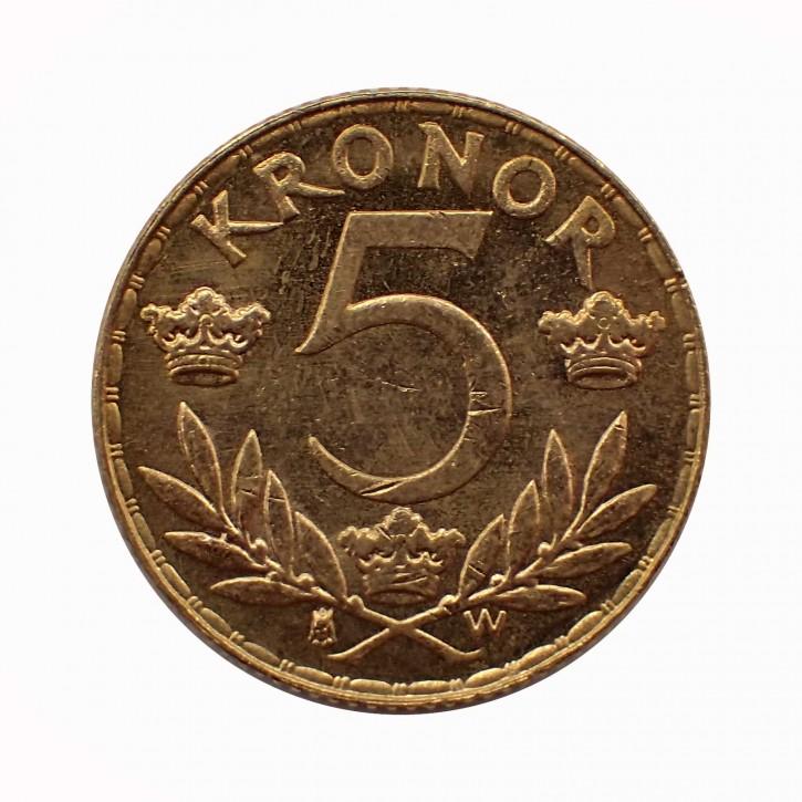 Schweden 5 Kronen/Kronor Gold Gustav V 1920