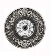 Tuvalu $ 2 Silber Thermometer Antik Finish 2018