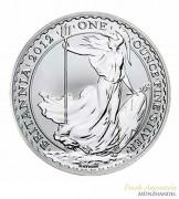Großbritannien 2 Pfund Britannia Silber 2012