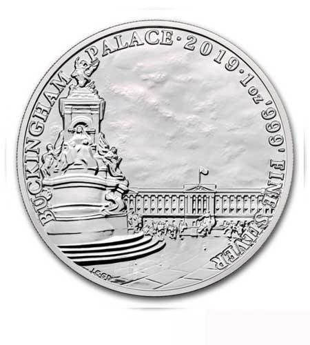 Großbritannien 2 Pfund Landmarks of Britain Buckingham Palace Silber 2019