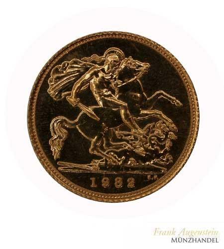 Großbritannien 1/2 Pfund Sovereign Gold