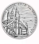 Großbritannien 2 Pfund Landmarks of Britain Tower Bridge Silber 2018