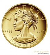 USA $ 100 Gold PP American Liberty 225th Anniversary Gold 2017