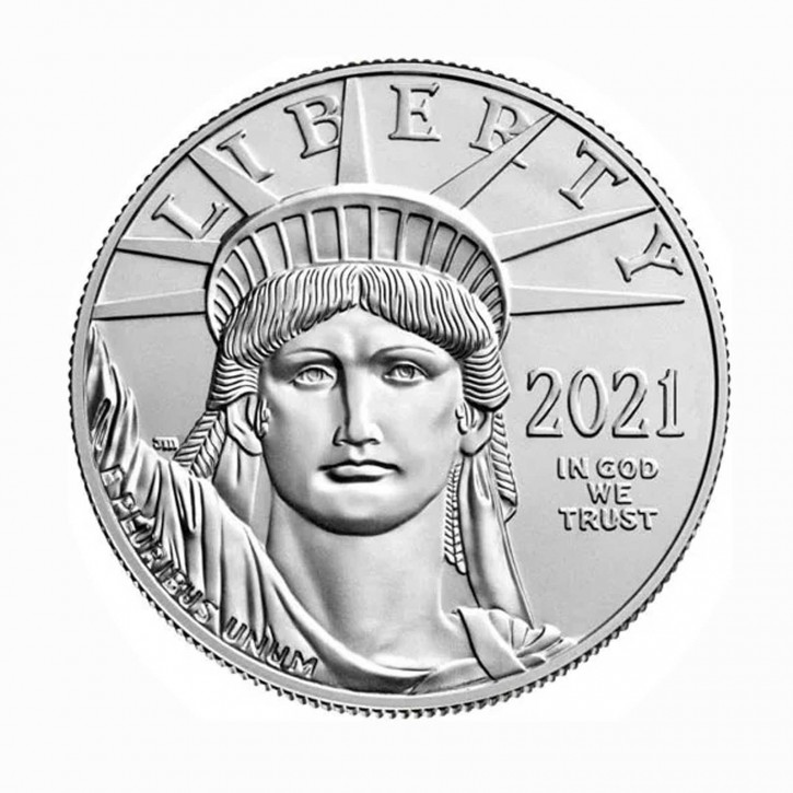 USA $ 100 Platin Eagle 1 oz .9995 Pt 2021