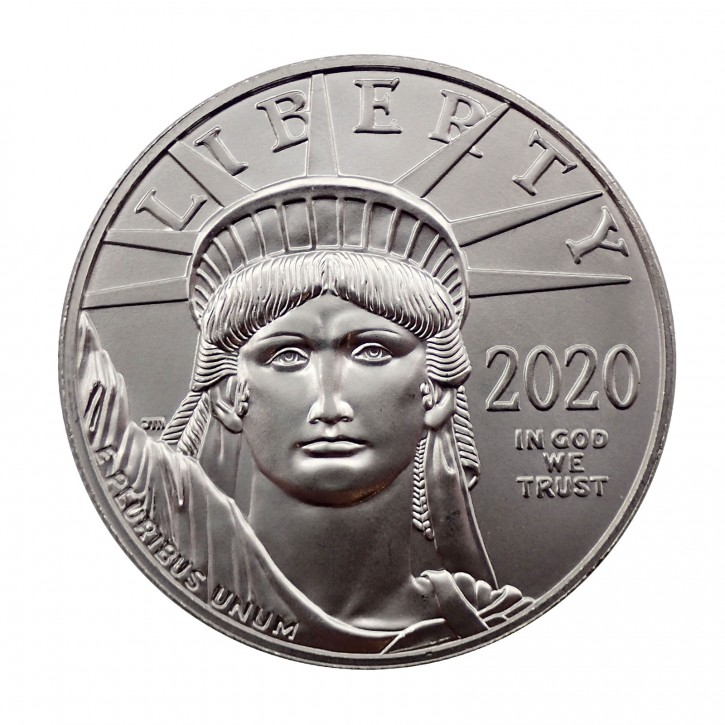 USA $ 100 Platin Eagle 1 oz 2020 BU