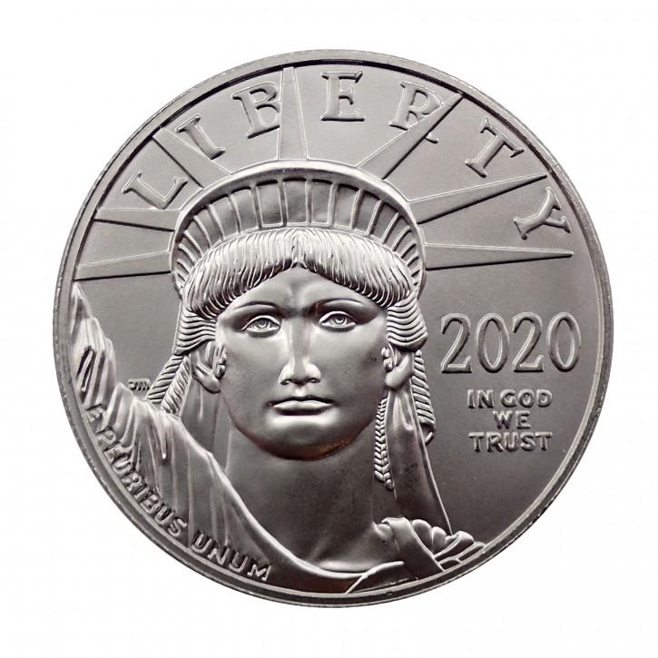 USA $ 100 Platin Eagle 1 oz 2020 BU