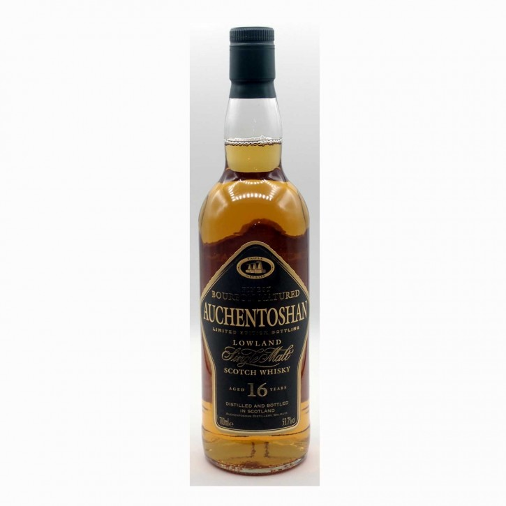 Auchentoshan 16 YO 53,7% Limited Edition Bourbon 0,7 l - 4800 Flaschen