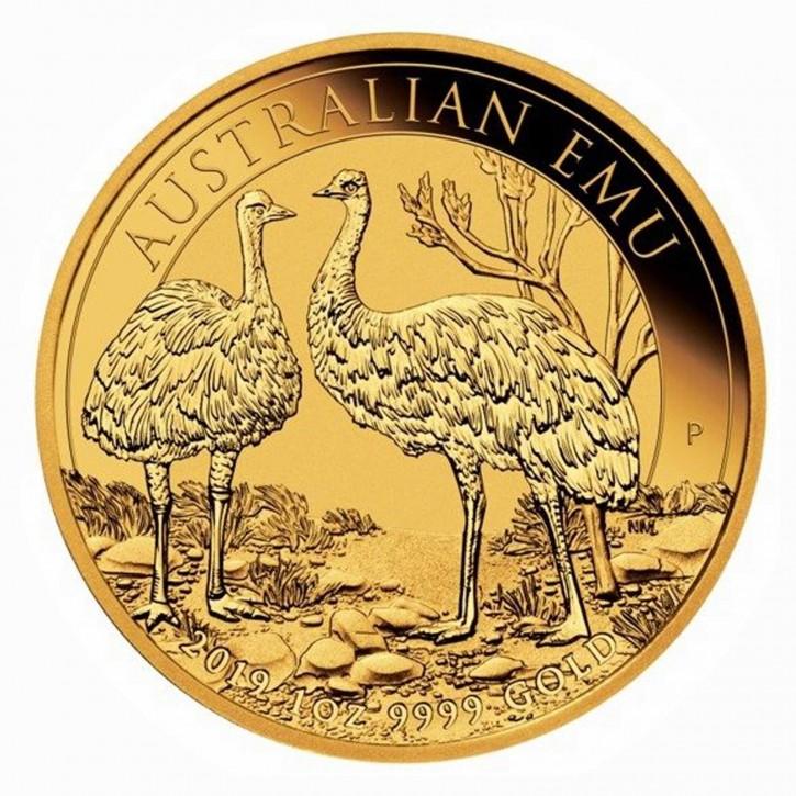 Australien $ 100 1 oz Gold Emu 2019