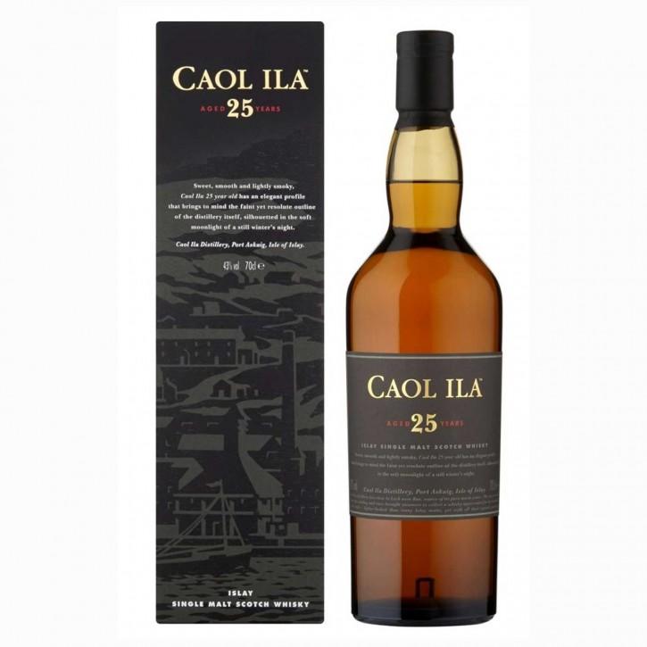 Caol Ila 25 Jahre Islay Single Malt Whisky 43% 0,7 l
