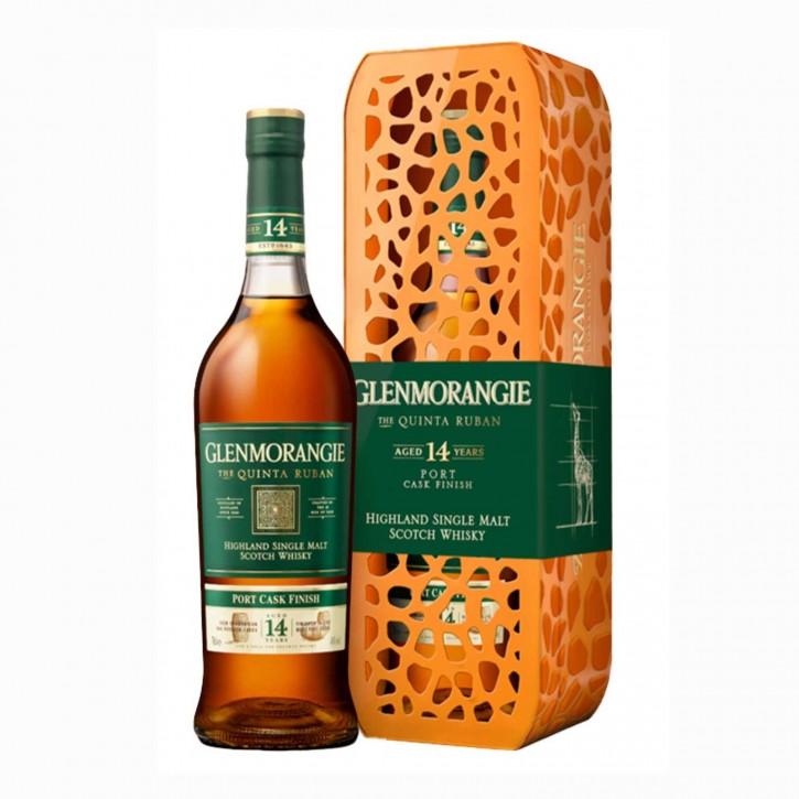 Glenmorangie Quinta Ruban Port 14 YO Limited Edition Giraffe Single Malt Scotch Whisky 46 % 0,7 l