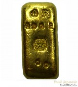 Goldbarren gegossen J.A. Rey (Belgien) 30g .9999 Gold