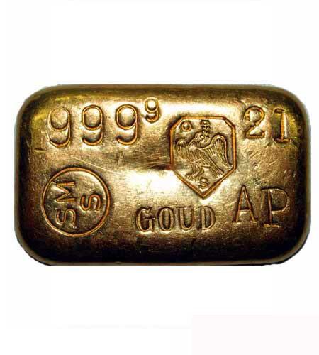 Goldbarren gegossen Schöne Edelmetaall B.V. 100g .9999 Gold