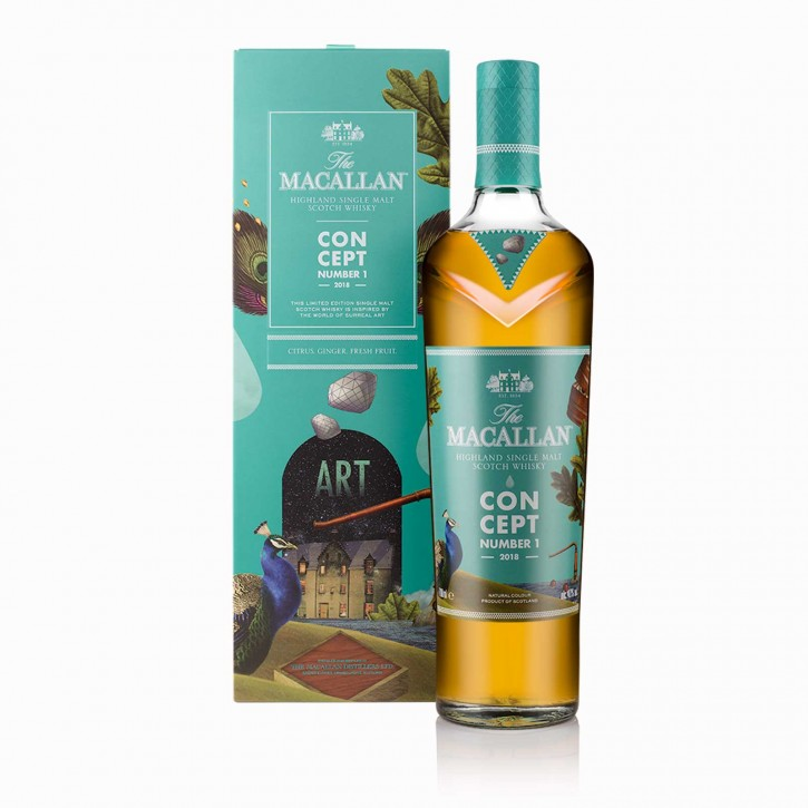 The Macallan Concept No.1 Single Malt Scotch Whisky 40 % 0,7 l