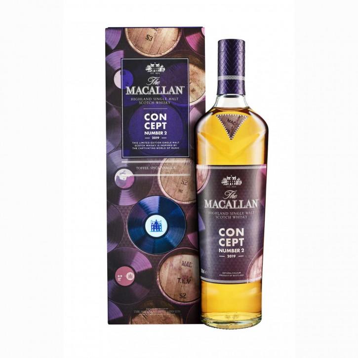 The Macallan Concept No.2Single Malt Scotch Whisky 40 % 0,7 l