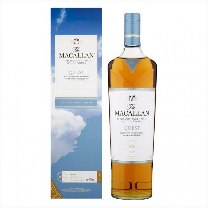 The Macallan Quest Single Malt Scotch Whisky 40 % 1 l