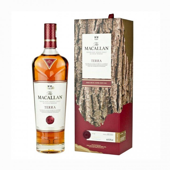 The Macallan Terra Single Malt Scotch Whisky 43,8 % 0,7 l