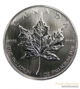 Canada $ 50 Maple Leaf 1 oz .9995 Palladium