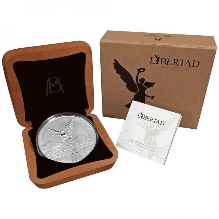 Mexiko Siegesgöttin/Libertad 2020 1 kg .999 Silber